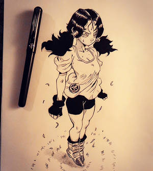 :Videl learns how to fly_instagram: