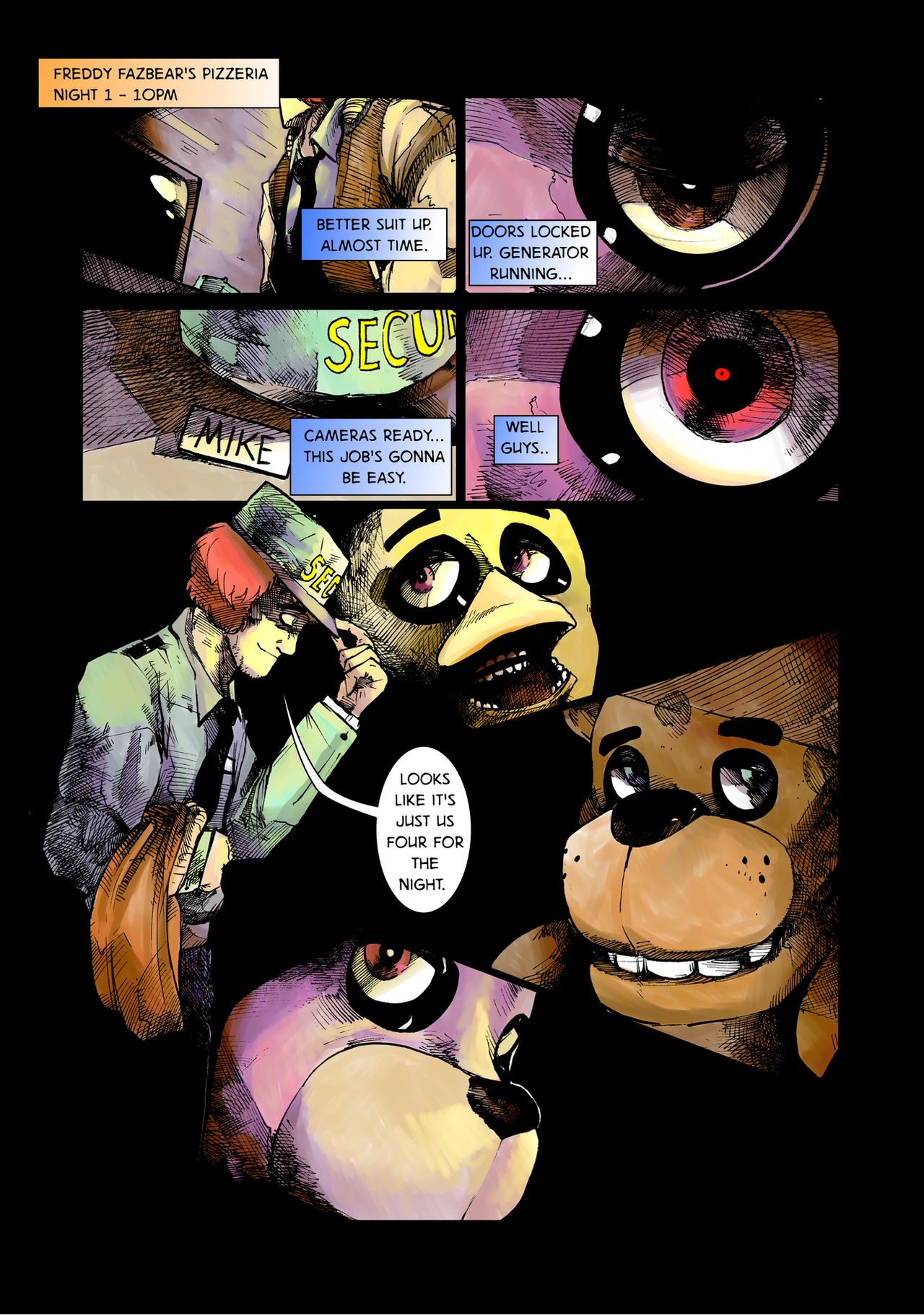 Five nights at freddy s day and night page 6 by brianxkaren on