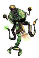 Sergeant RL-3 - Fallout 3 by EyeOfSemicolon