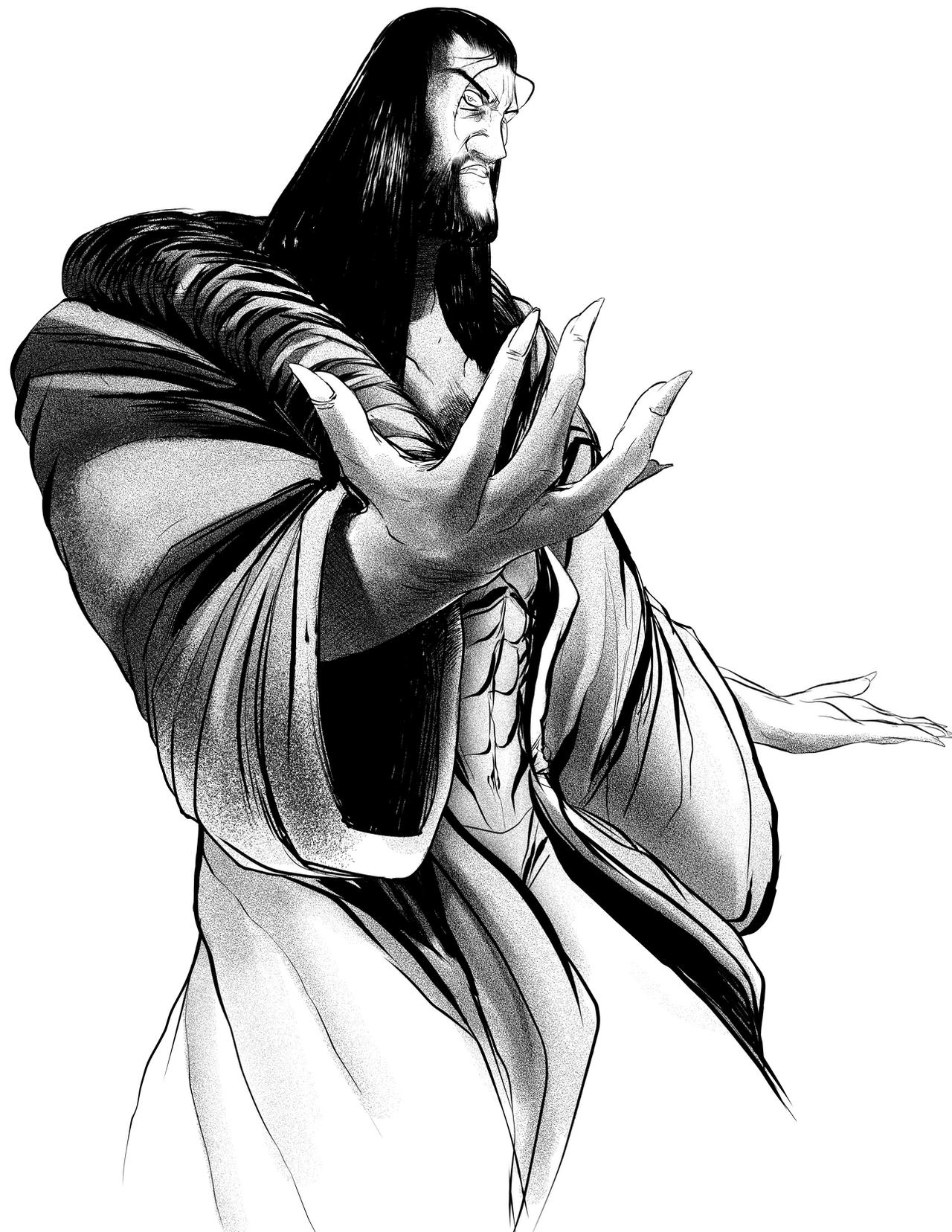 Rasputin Character Sketch by EyeOfSemicolon on DeviantArt