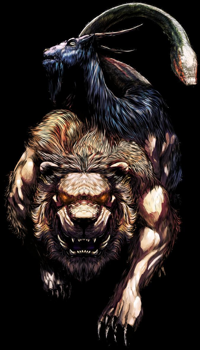 Dragon's Dogma - The Chimera by EyeOfSemicolon