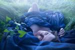 In my blue Cradle II by Vesperana