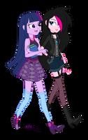 [Request] - OC - Princess Twilight and Zoe by VerumTee