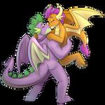 [Commission] - Older Spike and Smolder