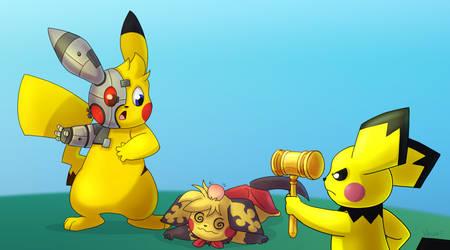[Commission] - [Pokemon] - Bad Alterchu