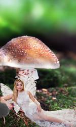 Olivia Holt as a fairy