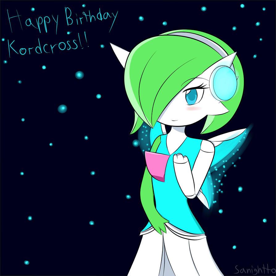 Happy Birthday Kordcross by Sanightto-Kun