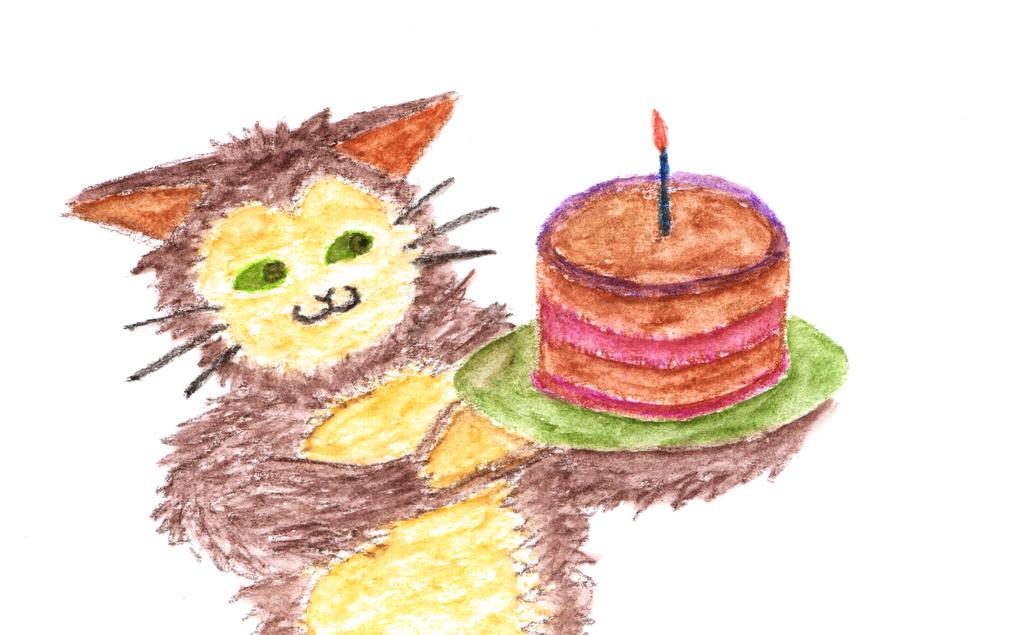 Happy birthday jocelyner! by blackbluecat777