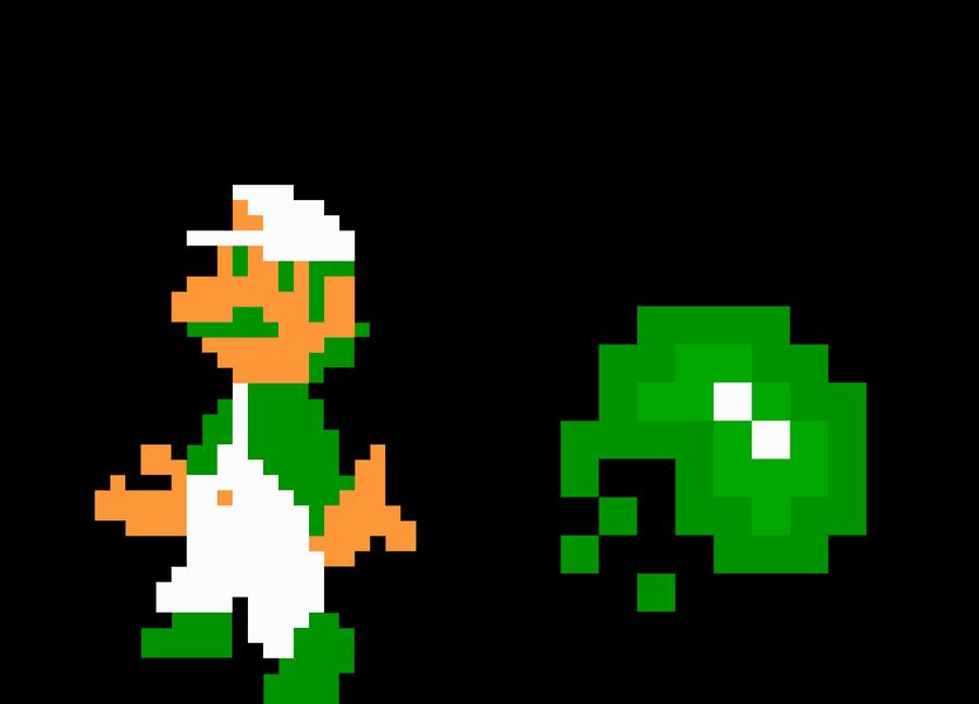Gallery Baby Luigi Pixel Art