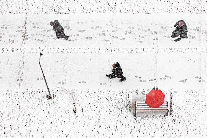 red umbrella by salihguler