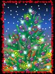 Sparkly Christmas Tree