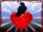 V-day bird by jelerib