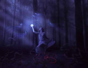 light and darkness by LenaSunny