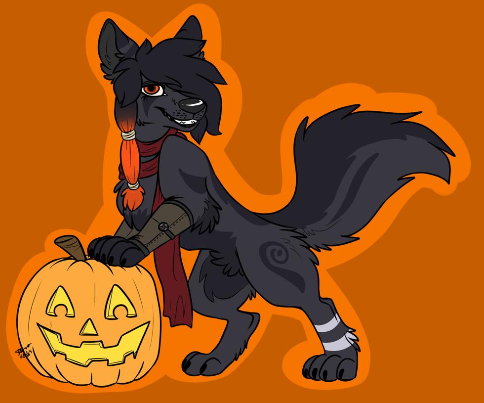 Halloweenie - Runa by SimplySassfras
