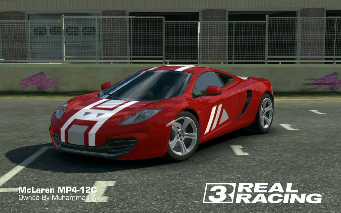 Real Racing 3 Decal Ciustom