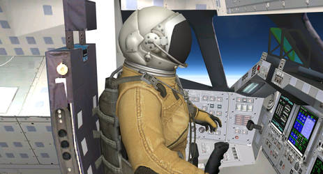 Astronaut's office by SpacePozzolo