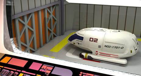 Hangar Enterprise (Galaxy V-Ray)