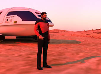 Away team : Will Riker by SpacePozzolo