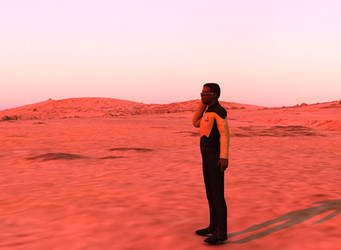Away Team: Geordi by SpacePozzolo