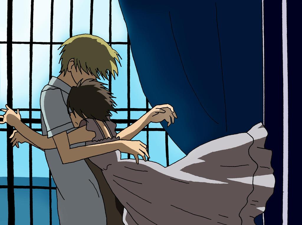 Ouran- Tamaki and Haruhi by Suuki162006Haruhi And Tamaki Hug