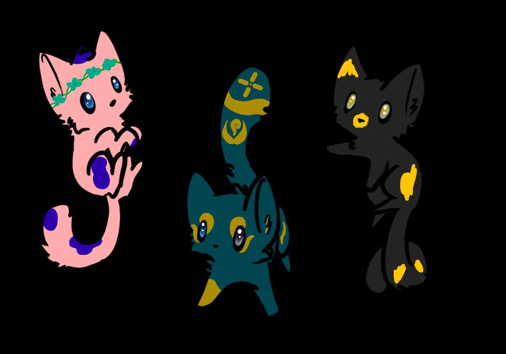 Mystical Kitten Adopts!