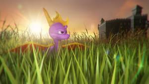 Spyro: Sunny lawn