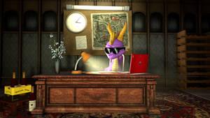 Secret agent Spyro