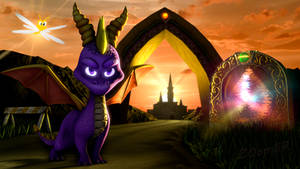[SFM] Spyro: Evening Star by ZOomERart