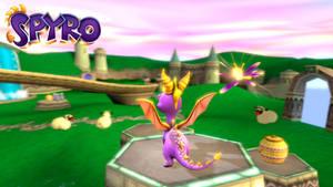 Spyro the Dragon: Game screen