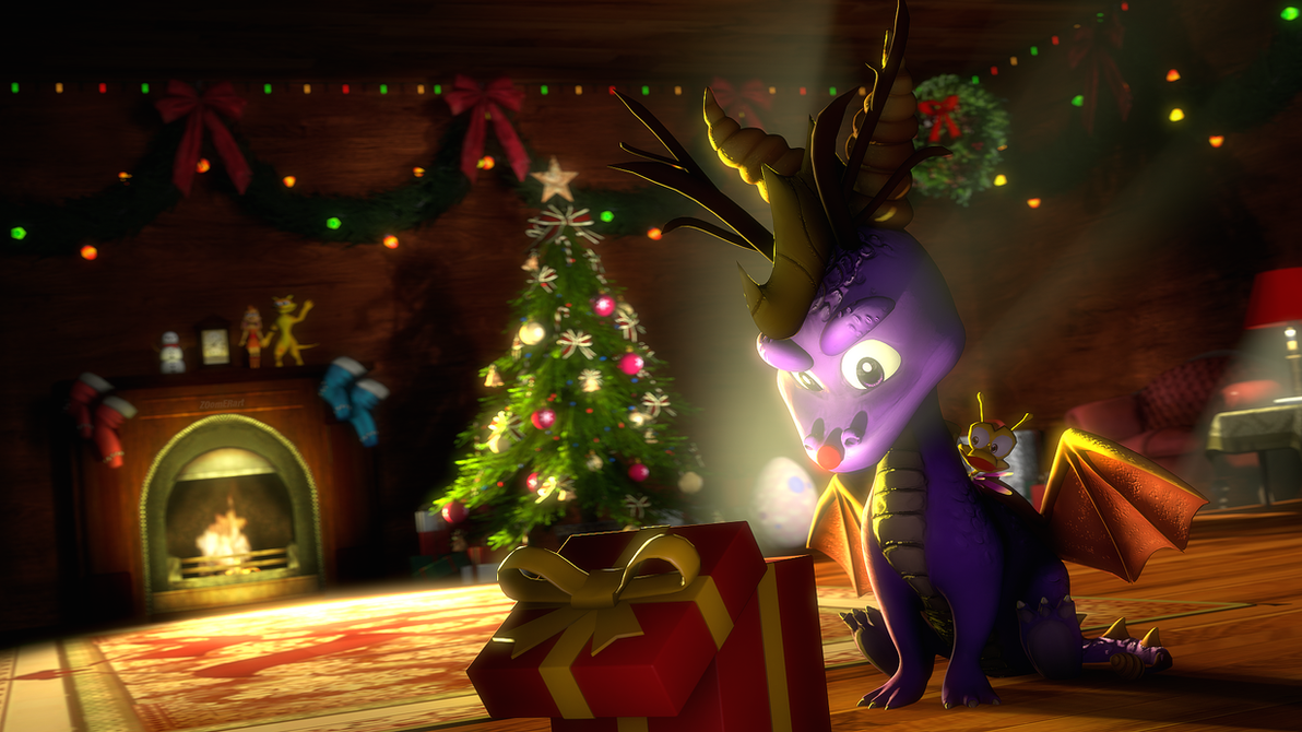 Spyro: Christmas Story by ZOomERart