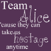 Team Alice by s-ketchie