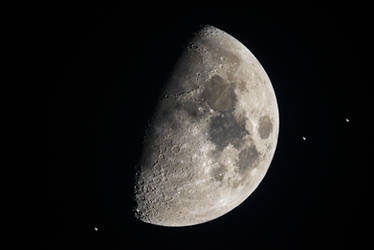 ISS and Moon - The Journey