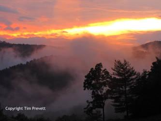 North Carolina Sunset IV by MothReve
