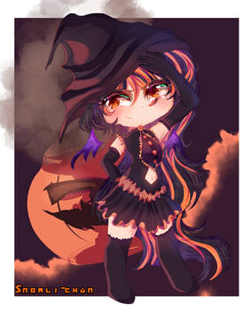 Dalloween witch