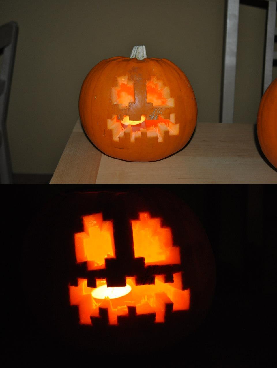 Minecraft pumpkin template imgkid the image