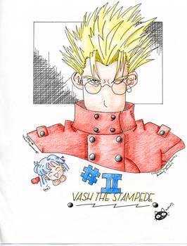 In love with Vash