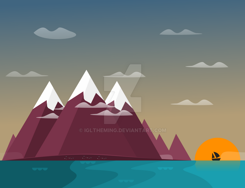 Simple Wallpaper Mountain Google - google_now_coast_wallpaper_by_igltheming-d946v8o  Best Photo Reference_33923.png