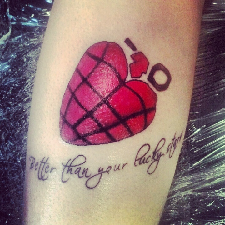 Tattoo number 3 by gryffindorgreenday2 on deviantart for Number 3 tattoo