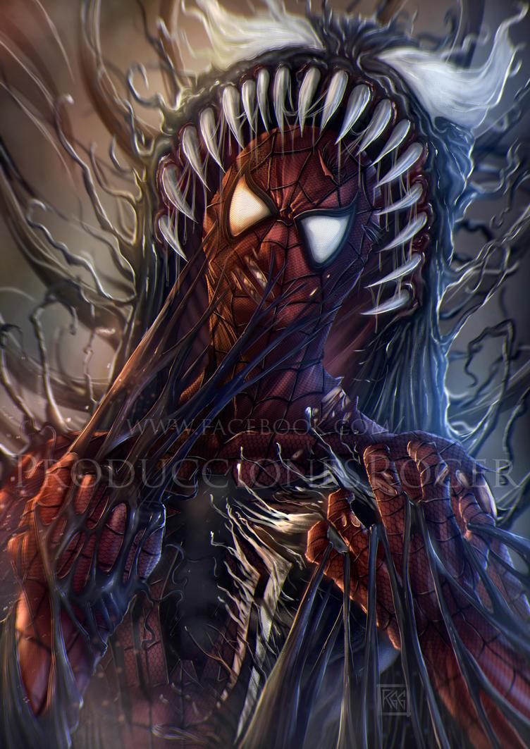 SpiderVenom by RogerGoldstain