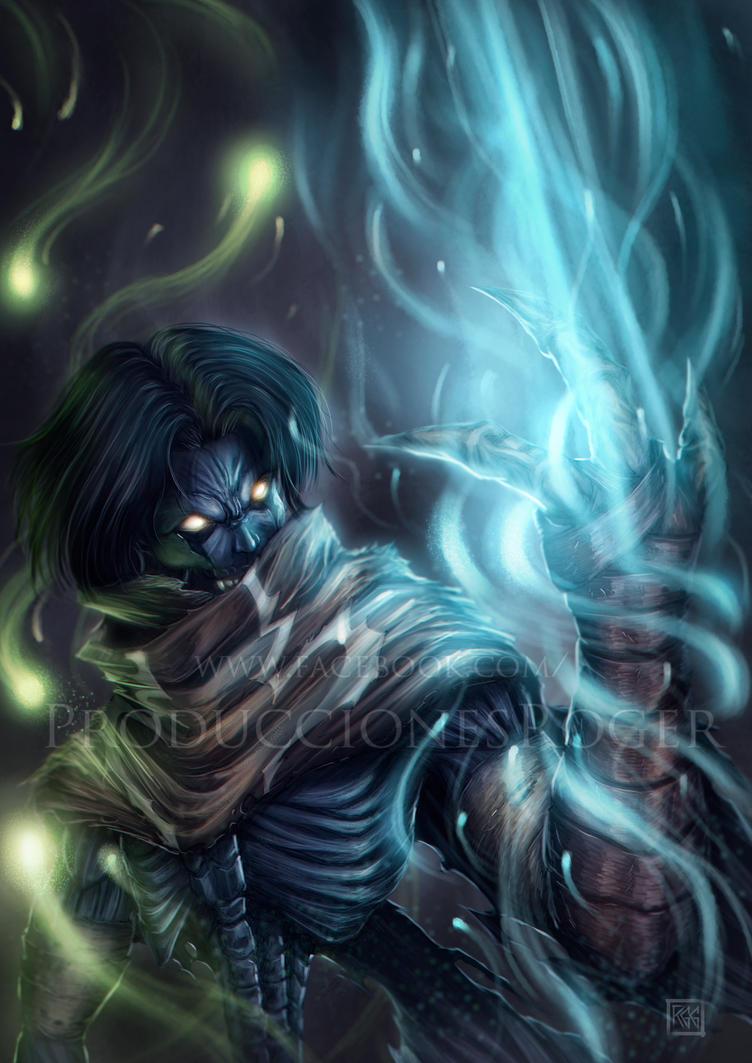 Raziel - The Soul Reaver by RogerGoldstain
