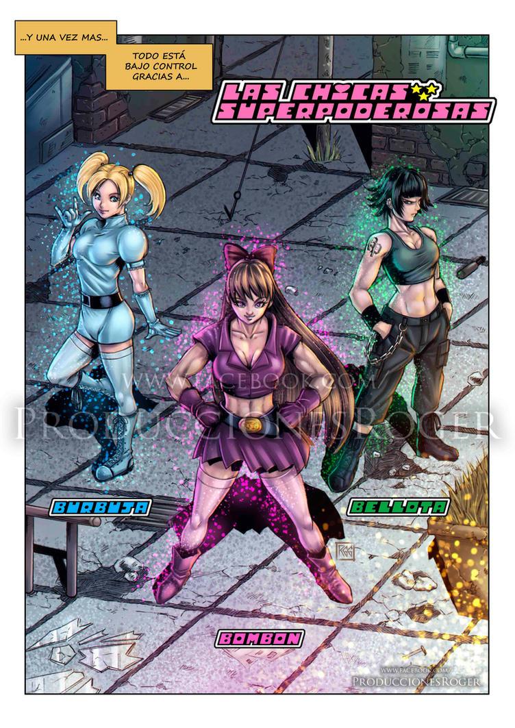 Las Chicas Superpoderosas by RogerGoldstain