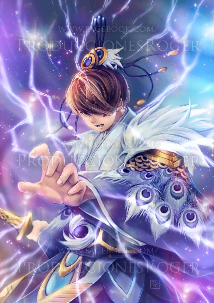 Shinobird (Yu-gi Oh! Card Game Character) by RogerGoldstain
