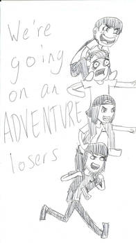 We're Going on an Adventure