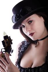 Steampunk Gun by wstoneburner