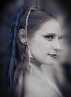 Blue Hair White Skin