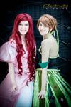 Ariel and Anna