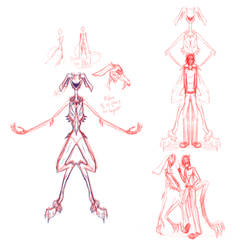 Flame redesign sketches