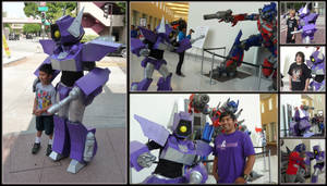 BotCon 2009 Shockwave Costume by dou-hong