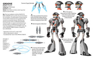 TFA Protectobots: Groove by dou-hong