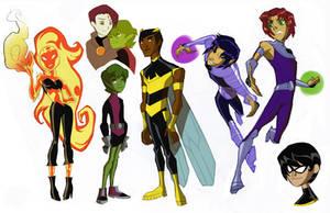 Teen Titans: GB REDUX Part 3 by dou-hong